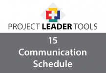 PLT 15 Project Communication Schedule